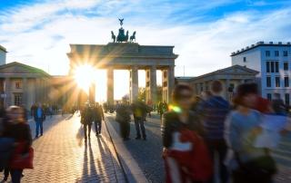 Spring at Brandenburg Gate